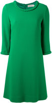 Goat plaited detail tunic dress - women - Polyester/Acetate/Wool - 6