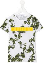 MSGM printed T-shirt - kids - Cotton - 4 yrs