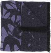 McQ by Alexander McQueen swallow print scarf - women - Polyamide/Wool - One Size