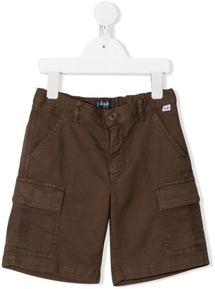 Il Gufo Flap Pocket Shorts