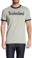 Timberland Short Sleeve Linear Logo Tee