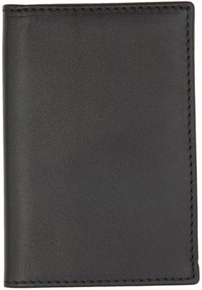 Comme des Garcons Wallets Black Classic Foldover Bifold Card Holder