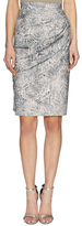 Ava & Aiden Printed Wrap Skirt