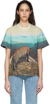 Stella McCartney Multicolor Leopard 2001 T-Shirt