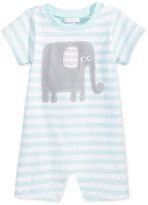 First Impressions Striped Elephant Cotton Romper, Baby Boys (0-24 months), Created for Macy's