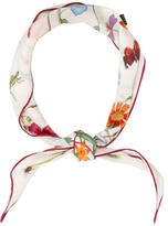 Gucci Silk Nature Print Scarf