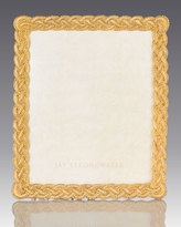 """Jay Strongwater Braided 8"""" x 10"""" Frame"""