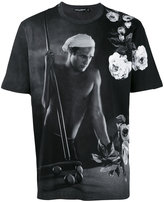 Dolce & Gabbana Marlon Brando print T-shirt - men - Cotton - 44