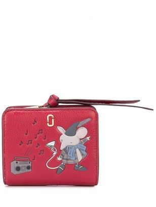 Marc Jacobs The Softshot Mouse mini compact wallet