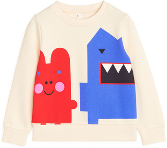 Arket Monster French Terry Sweatshirt
