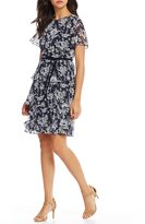 Jessica Howard Floral Tiered Dress