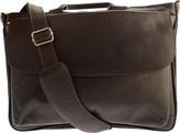 Piel Leather Top-Zip Brief Tote 2995