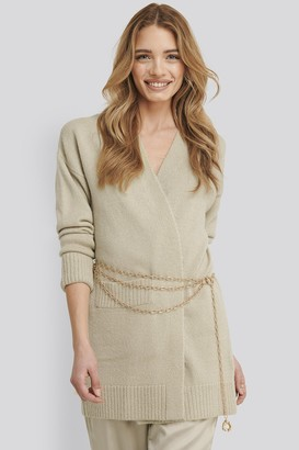 Xle The Label Lia One Pocket Knitted Cardigan