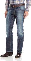 Wrangler Men's Rock 47 Slim Fit Straight Leg Jean