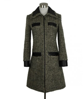 Louis Vuitton Green Wool Coats