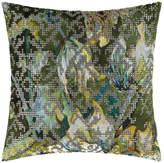 Designers Guild Bardiglio Cushion - 40x40cm - Emerald
