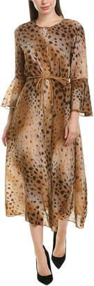 Lafayette 148 New York Carody Silk Maxi Dress