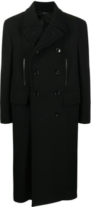 Tom Ford Pleated Double-Breasted Coat