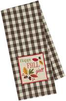 Design Imports Happy Fall Y'All Embellished Dish Towels (Set of 2)