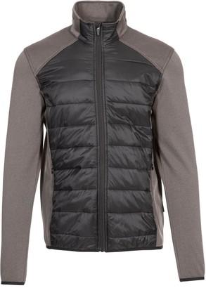 Trespass Falfieldkirk Hybrid Jacket - Black
