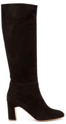 Rupert Sanderson Au Revoir Knee-high Suede Boots - Black