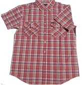 Brixton Men's Memphis Short Sleeve Woven Shirt
