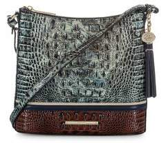 Brahmin Glacier Eastwood Katie Leather Crossbody Bag