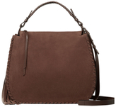 AllSaints Mori Leather Hobo Bag