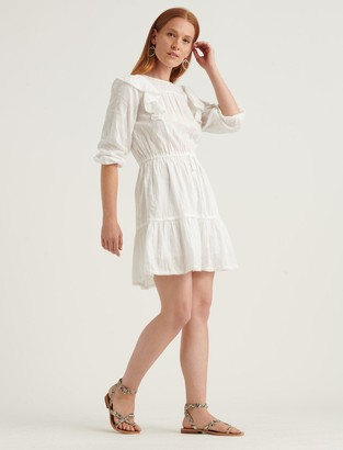 Lucky Brand Charlie Ruffle Mini Dress