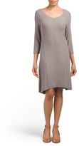Three Quarter Sleeve Weekend Dress