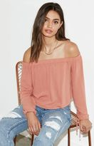 KENDALL + KYLIE Kendall & Kylie Off-The-Shoulder Top