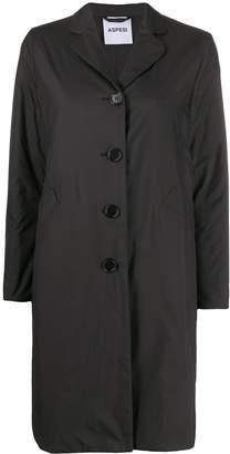 Aspesi single-breasted raincoat