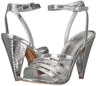 MICHAEL Michael Kors Kimmy Sandal (Black) Women's Shoes