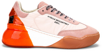 Stella McCartney Runner Loop Sneakers in Old Rose | FWRD