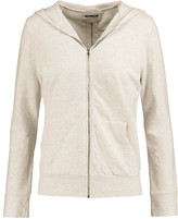 Monrow Cotton-blend jersey hooded top