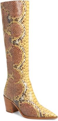 Sam Edelman Lindsey Pointed Toe Knee High Boot