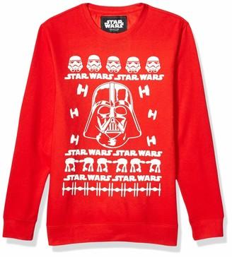 Star Wars Unisex-Adult's Christmas Fleece