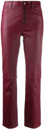 Joseph Den stretch leather trousers