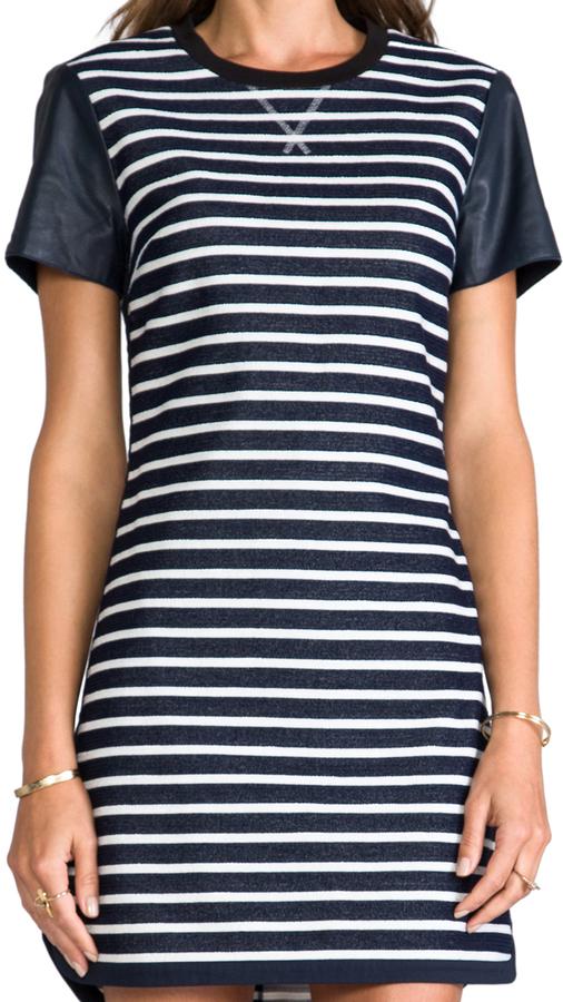 Rachel Zoe Warren Striped Dress