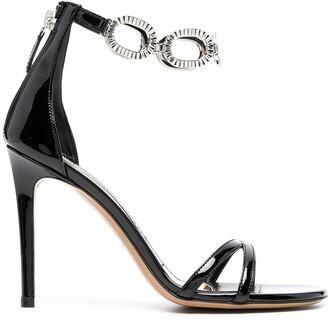 Alexandre Vauthier Bella chain-link sandals