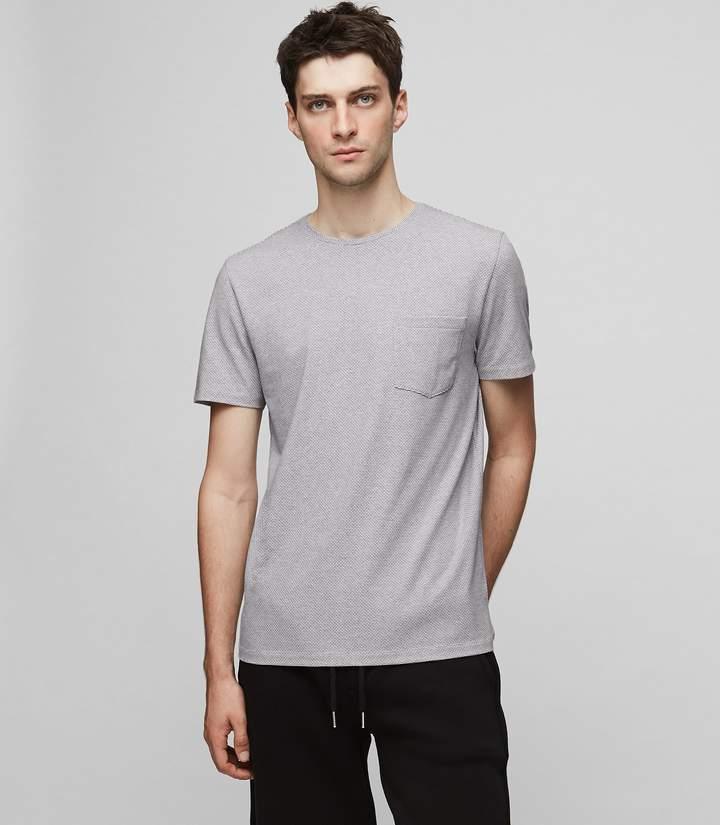 Reiss Aquila Print Crew-Neck T-Shirt