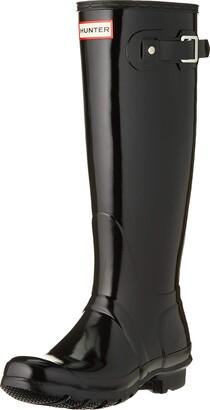 Hunter Women High Wellington Boots Black (Black) 38 EU (5 UK)