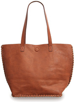 Co-Lab by Christopher Kon Cognac Stitched Tote