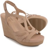 Me Too Alanna Platform Wedge Sandals - Leather (For Women)