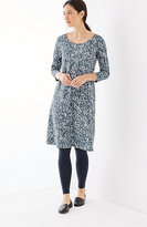 J. Jill Pure Jill Printed A-Line Knit Dress