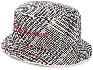 Ruslan Baginskiy houndstooth logo hat