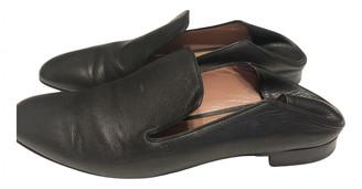 Bally Black Leather Flats