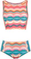BRIGITTE cropped top bikini set