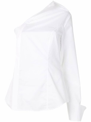 ANNA QUAN Evie deconstructed blouse