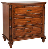 Romsey Three-Drawer Nightstand